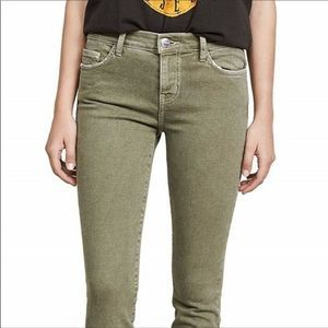 Current/Elliott Stiletto Skinny Green Jeans NEW